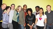 Clybourne Park stars Frank Wood, Annie Parisse, Jeremy Shamos, Damon Gupton, Crystal A. Dickinson and Brendan Griffin welcome celebrity guests Angela Bassett and Courtney B. Vance.