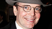 Tony winner Jefferson Mays took a moment off from rehearsing for Gore Vidal&#39;s The Best Man to party at Sardi&#39;s. 