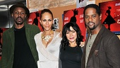 Wood Harris, Nicole Ari Parker, Daphne Rubin-Vega and Blair Underwood are more than ready to ride Streetcar to Broadway together. 