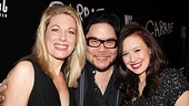 Director Stafford Arima is flanked by his two leading ladies, Marin Mazzie and Molly Ranson. Check out their work in Carrie at the Lucille Lortel Theatre.