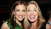 Before she begins work on Leap of Faith Jessica Phillips took a night to reconnect with former Next to Normal castmate Marin Mazzie.