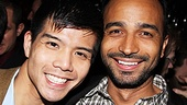 Godspell&#39;s Telly Leung and stage vet Andy Senor hail the Tony-winning show at 48 Lounge. 