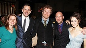 Once opening night  Marketa Irglova  Steve Kazee  Glen Hansard  John Tiffany  Cristin Milioti 