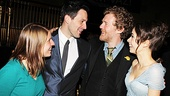 Not only do Marketa Irglova, Steve Kazee, Glen Hansard and Cristin Milioti love working together, they've become friends as well.