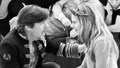 Peter and the Starcatcher Rehearsal  Rick Holmes  Celia Keenan-Bolger  The Company 