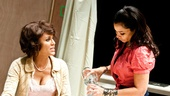 Streetcar Named Desire rehearsal  Nicole Ari Parker  Daphne Rubin-Vega
