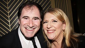 Richard Kind and Lisa Lampanelli share a laugh at the Plaza.