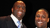Magic.Bird Opening Night – Magic Johnson – Kevin Daniels