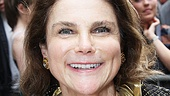 Three-time Tony nominee Tovah Feldshuh is happy to experience a night out at the theater.