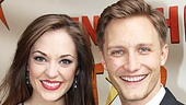 Peter and the Starcatcher Opening Night  Laura Osnes  Nathan Johnson