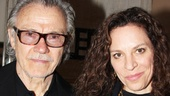 Peter and the Starcatcher Opening Night  Harvey Keitel - Family 