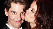 Peter and the Starcatcher Opening Night  Christian Borle  Debra Messing