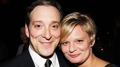 The smirks say it all! Jeremy Shamos and Martha Plimpton sure seem to be having fun.