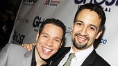 Ghost Opening Night  Robin de Jesus  Lin-Manuel Miranda 