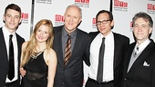 The Columnist Opening Night - Brian J. Smith – Grace Gummer – John Lithgow – Stephen Kunken - Boyd Gaines