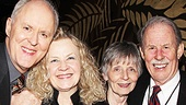 It's a family affair for The Columnist's John Lithgow who enjoys the night with wife Mary Yeager and his sister-in-law and brother!