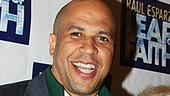 Leap of Faith Opening Night  Cory Booker  Daryl Roth