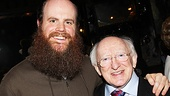 Irish President Visits Once   Paul Whitty  Michael D. Higgins 