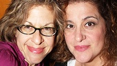 Gal pals Jackie Hoffman and Mary Testa, who co-starred in Xanudu, wouldn't dream of missing a chance to share a good laugh.