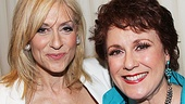 This is what we call a win-win situation. Judith Light, the 2012 Drama Desk Award winner for Outstanding Featured Actress in a Play (Other Desert Cities), gets close to Outstanding Featured Actress in a Musical winner Judy Kaye (Nice Work If You Can Get It).