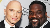 Evita's Michael Ceveris and Porgy and Bess star Phillip Boykin (nominees for Outstanding Featured Actor in a Musical) make a dapper duo.