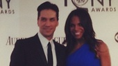 2012 Tony Awards Instagram Snapshots  Will Swenson  Audra McDonald 