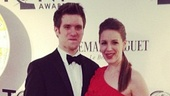 2012 Tony Awards Instagram Snapshots  Jessie Mueller  Andy Truschinski