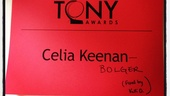 2012 Tony Awards Instagram Snapshots  Celia Keenan-Bolger  Kelli OHara