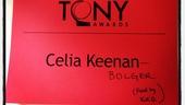2012 Tony Awards Instagram Snapshots – Celia Keenan-Bolger – Kelli O'Hara