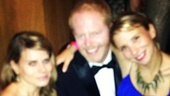 2012 Tony Awards Instagram Snapshots - Celia Keenan-Bolger  Jesse Tyler Ferguson - Sara Saltzberg