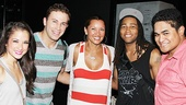 Vanessa Williams Visits Bring It On – Lauren Whitt – Dahlston Delgado - Vanessa Williams – Antwan Bethea – Michael Naone-Carter