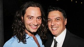 Soon-to-be Jekyll & Hyde star Constantine Maroulis wouldn't miss a chance to cheer for Robert Cuccioli, who earned a Tony nomination when he debuted in the title role(s) in 1997.