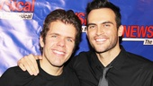 Perez Hilton hangs out with one of Broadway's favorite leading men, Cheyenne Jackson, who is about to appear in the new Broadway in the porn comedy The Performers.