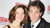 Onstage (and real-life) married couple Kathleen McNenny and Boyd Gaines can&#39;t get enough of each other. 