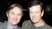 Richard Thomas takes a moment with fellow stage and screen star Dylan Baker, who is always ready for a good Ibsen drama.