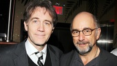 Star Boyd Gaines gets chummy with Glengarry Glen Ross cast member (and West Wing vet) Richard Schiff.