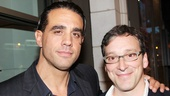 Always be posing! Glengarry Glen Ross co-stars Bobby Cannavale and Jeremy Shamos came to check out the competition.