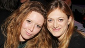 Natasha Lyonne and Marin Ireland take in the scene at the afterparty.