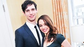 Broadway won't be able to stop talking about the heat between onstage couple Cory Michael Smith and Emilia Clarke!