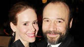 That's an opening night wrap for Sarah Paulson and Danny Burstein. Go feel the love for yourself down at the dock at Talley's Folly!