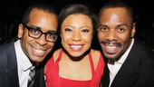 Vanya standout Shalita Grant gets flanked by Passing Strange stars Daniel Breaker and Colman Domingo.