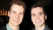 Ensemble member Ryan Steele gets some quality time with his boyfriend and The Book of Mormon star Matt Doyle.