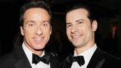 Lookin' good! Cast members Timothy J. Alex and Dominic Nolfi rock matching black bowties.
