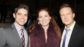 2013 Audience Choice Awards- Jeremy Jordan- Debra Messing- Will Chase