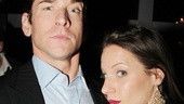 Favorite Onstage Pair nominees Andy Karl and Jessie Mueller recreate their signature Drood expressions. 
