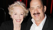What are the odds that Bosom Buddies co-stars Holland Taylor and Tom Hanks are both on Broadwayand nominated for Tonys at the same time!