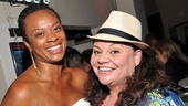 Priscilla Queen of the Desert alums Jacqueline B. Arnold and 2013 Tony nominee Keala Settle cheer on their former co-star Will Swenson.