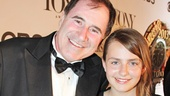 The Big Knife star Richard Kind shares his first Tony nomination with his beautiful daughter Skyler.