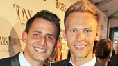 Tony Red Carpet- Benj Pasek- Justin Paul