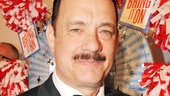 Two-time Oscar winner Tom Hanks is savoring his first Tony nomination.